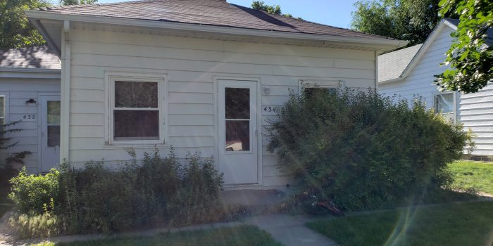 434 King St. – 1 Bedroom, 1 Bath – Chadron, NE
